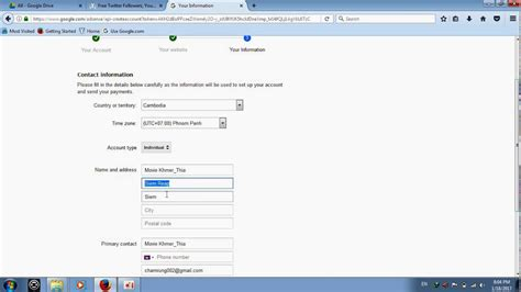 adsense youtube sign up how to monetization on youtube account to adsense youtube