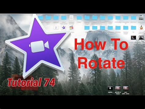tutorial imovie 10 0 9 how to rotate in imovie 10 0 9 tutorial 74 youtube