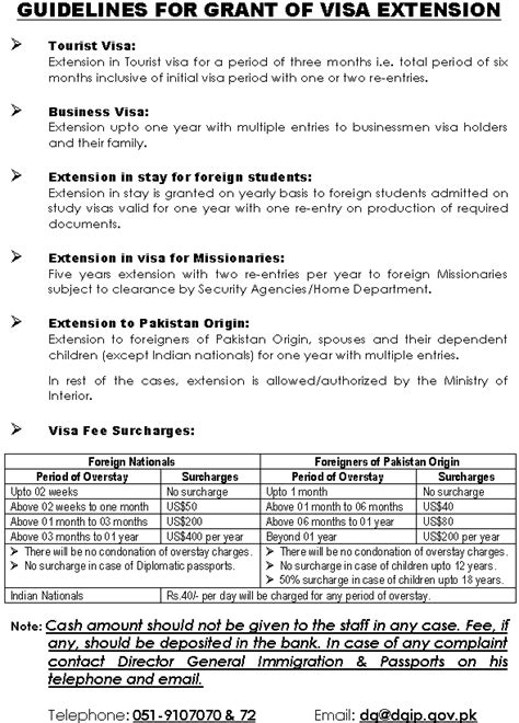 Invitation Letter For Visa Application For Pakistan Pakistan Visitor Visa Requirements Visa Forms Procedure And Embassies In Pakistan