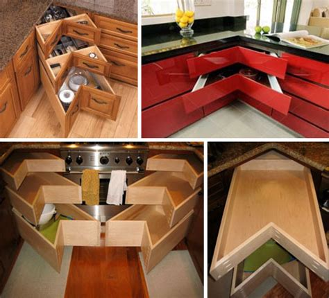 Drawer Solutions corner drawers 6 solutions for awkward kitchen spaces