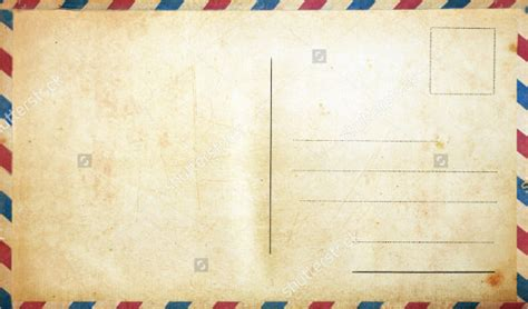 Blank Postcard Template 34 Free Psd Vector Eps Ai Format Download Free Premium Templates Postcard Template