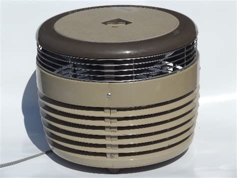 Vintage Galaxy Hassock Fan Three Speed Electric Fan Ottoman Fan