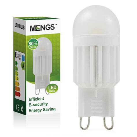 g9 led light bulb dimmable mengsled mengs 174 g9 3w led dimmable light smd leds led