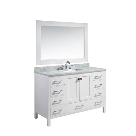 design element london 30 in w x 22 in d makeup vanity in design element london 54 in w x 22 in d x 36 in h