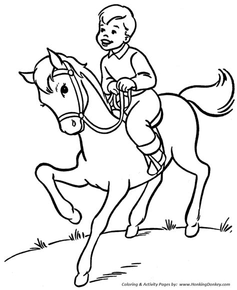 coloring pages of horse riding trick riding horse coloring pages coloring pages
