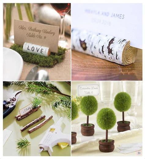 porte nom de table mariage decoration mariage rustique vive le bois mariage 2016