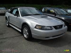2002 ford mustang v6 convertible in satin silver metallic