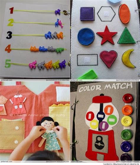 free pattern quiet book quiet book patterns ideas manualidades pinterest