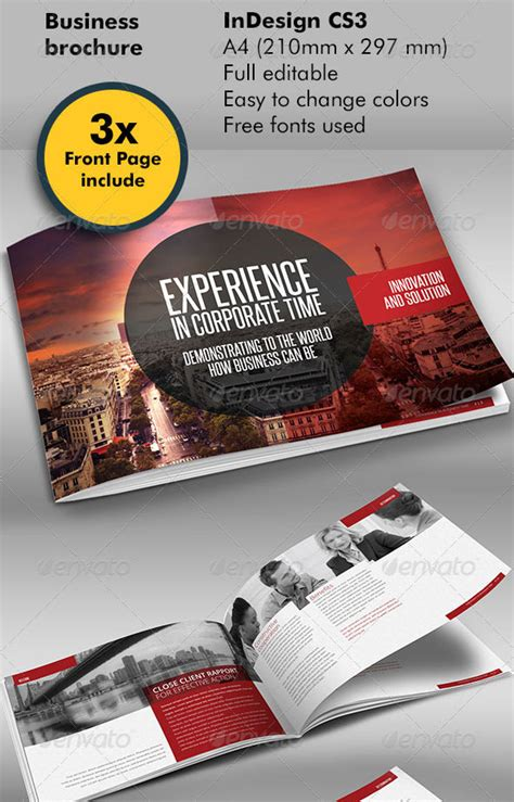 30 High Quality Indesign Brochure Templates Web Graphic Design Bashooka Pages Flyer Templates