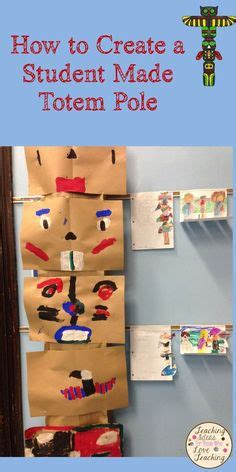 How To Make A Totem Pole Out Of Paper - make a totem pole out of toilet paper or paper towel rolls