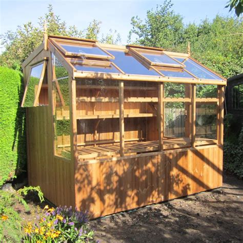 Potting Shed by 6x8 Wooden Potting Shed