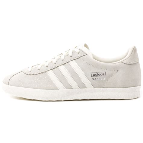 adidas gazelle og womens suede white trainers new