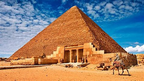 imagenes piramides egipcias revelan c 243 mo fueron construidas las pir 225 mides de egipto