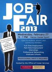 job fair planned for feb 27 fsunow fairmont state