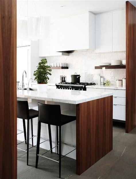 Warm White Kitchen Cabinets Five Ways To Keep A White On White Modern Kitchen Warm Cabinets Modern Kitchens And Bar Stools