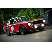 Great Looking TR6 Rally Car  Richard Pinterest Cars