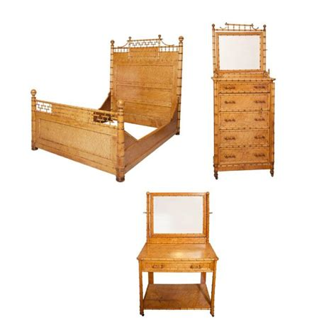 bamboo bedroom furniture suite of faux bamboo maple bedroom furniture