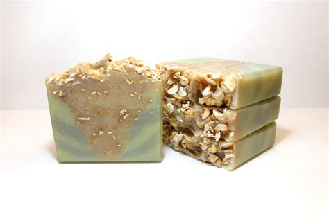 Handmade Oatmeal Soap - aloe oat handmade soap fresh aloe soap oatmeal soap
