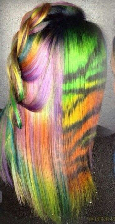 rainbow hairstyles games 1558 best colorful hair images on pinterest colourful