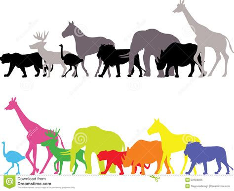 99 q to u animals collection stock images page everypixel animal silhouette stock vector image of leopard