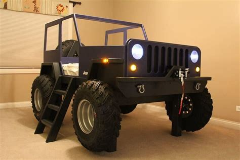 Jeep Bed by Jeep Bed Yes A Real Jeep Sleeping Bed Random Jeep