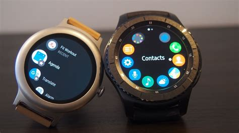 android wear smartwatch tizen v android wear which smartwatch os is right for you