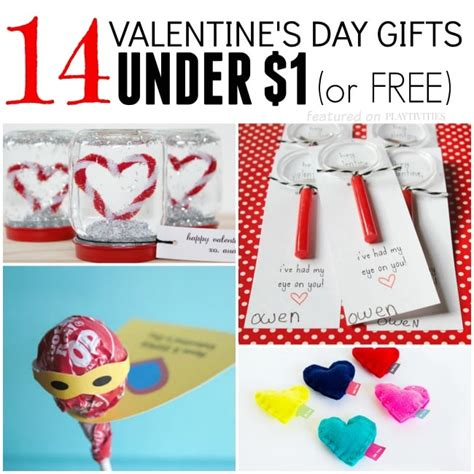 Valentines Handmade Gifts - 14 gifts for 1 playtivities