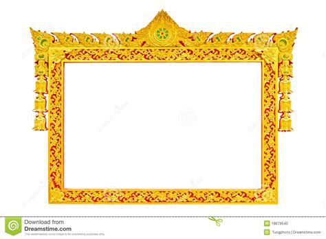 How To Decorate A Temple At Home ancient thai style sculpture frame stock photo image