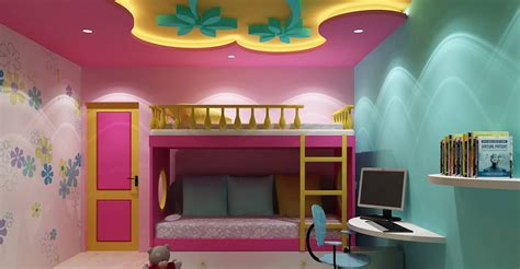interior for kids bedroom top 25 false ceiling design options for kids rooms 2018