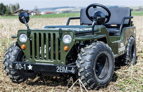 Mini Auto Mit Benzinmotor by Hillbil Offroad Mini Willys Jeep 150 Ccm Benzinmotor