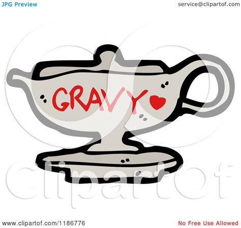 gravy boat tattoo cartoon of a gravy boat royalty free vector illustration