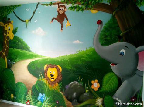 Decoration Animaux De La Jungle by Chambre B 233 B 233 Animaux De La Jungle Deco