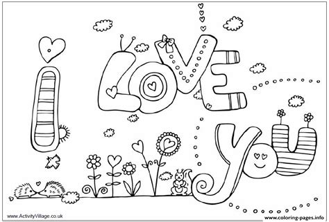 i coloring i you coloring pages printable