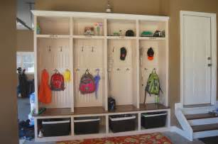 Garage Mudroom Designs Simple Diy Garage Mudroom Simply Organized
