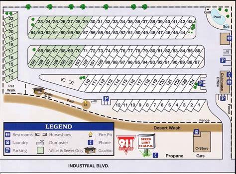 boat and rv warehouse lake havasu rv park layout