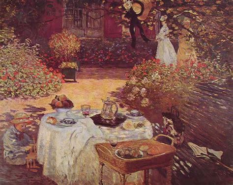 colazione in giardino colazione in giardino di claude monet