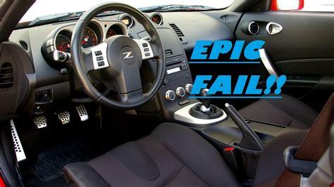 350z interior 350z interior trim removal epic fail
