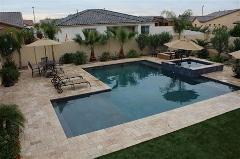 l shaped pool designs arizona custom pool spa expert buyer s guide new image
