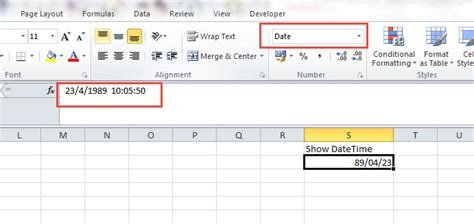 phpexcel date format php how can set format datetime phpexcel stack overflow