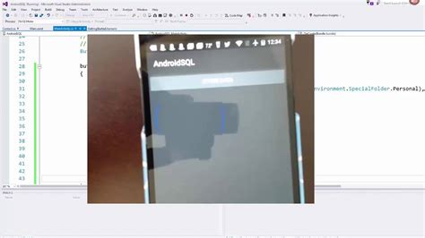 xamarin sqlite tutorial xamarin android tutorial getting started with sqlite