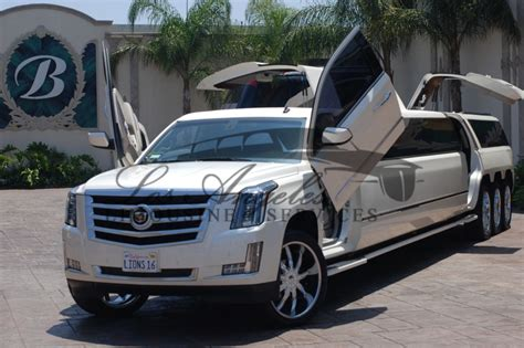 Escalade Limousine by View All Our Limousines Sedans Call 310 775 3607 To