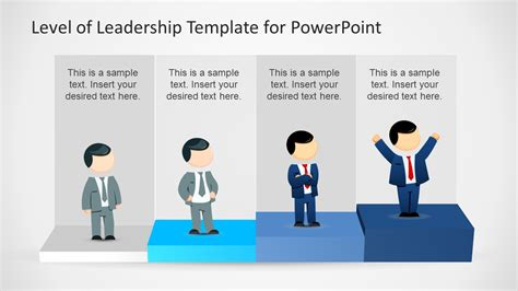 templates powerpoint leadership leadership levels diagram template for powerpoint slidemodel