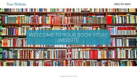 Book Store Website Templates Godaddy Godaddy Store Templates