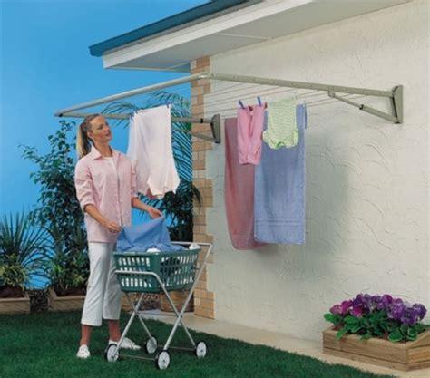 Gantungan Hanger Baju Indoor Portable Wall Mount Hanger the 25 best ideas about outdoor clothes lines on