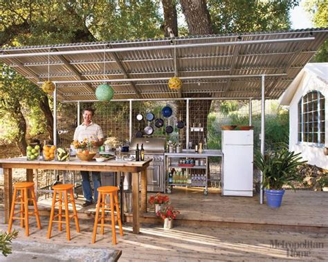 country outdoor kitchen ideas 78 images about corrugated metal roofing on