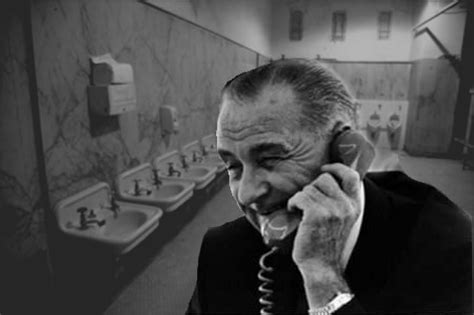 lyndon johnson bathroom they didn t call him johnson for nothing the peeing