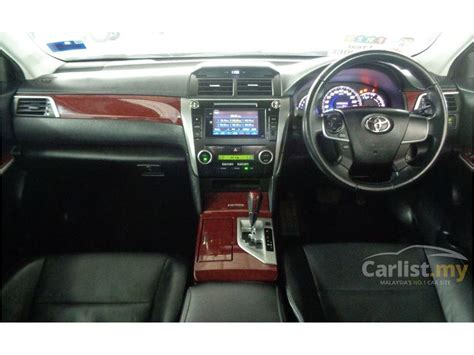 Toyota 2 Year Free Service Toyota Camry 2013 V 2 5 In Selangor Automatic Sedan Silver