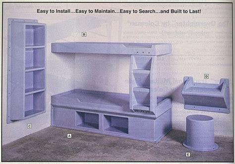 prison bunk bed prison cell furniture