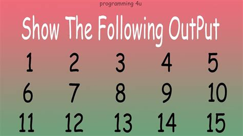 pattern in c youtube how to show numeric pattern in c language youtube