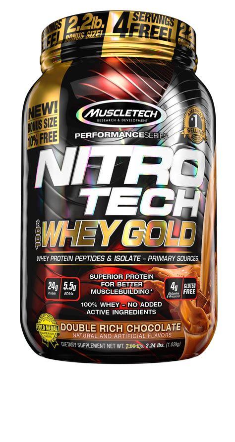 proteinas nitro tech muscletech nitrotech whey gold 100 whey